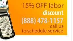 call to schedule your appliance repair
